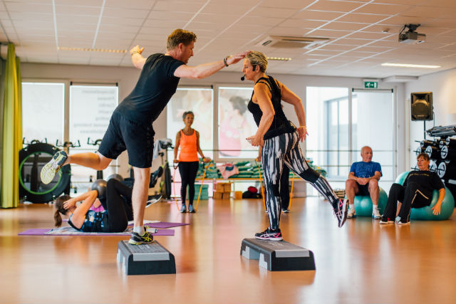 Groepsles van Sportschool Y-Fit in Leiden
